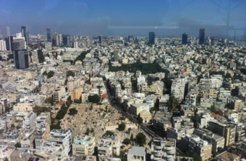 View of Tel Aviv (photo credit: Judith Goldstein)