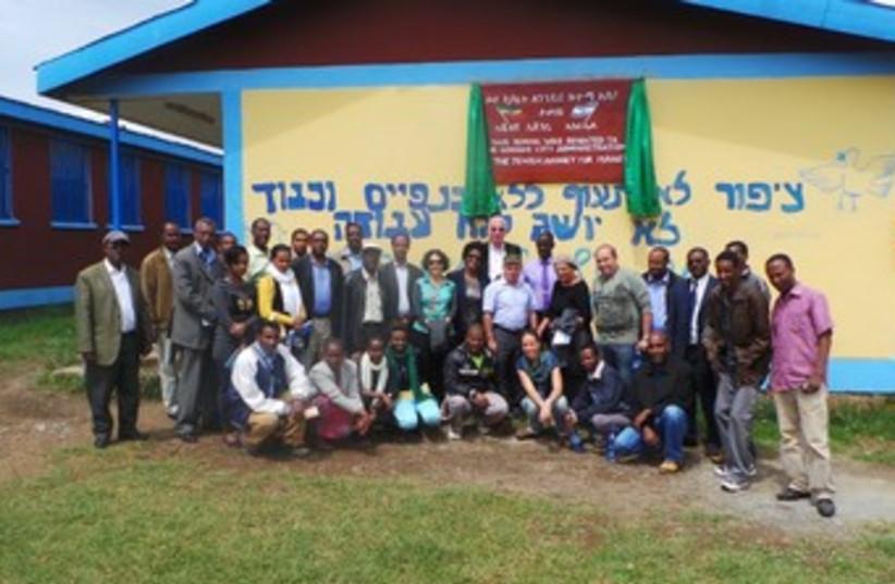 ethiopian aliyah final group 370 (photo credit: courtesy The jewish agency)