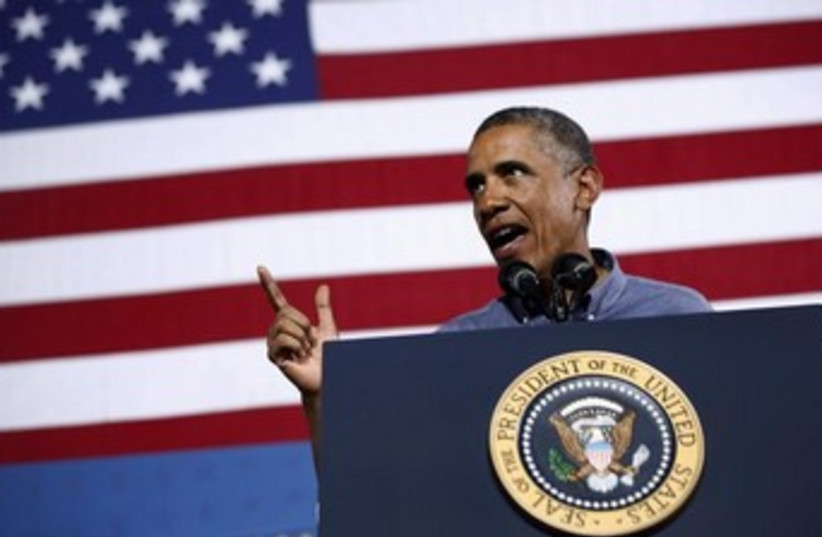 US President Barack Obama 370 (photo credit: Reuters)