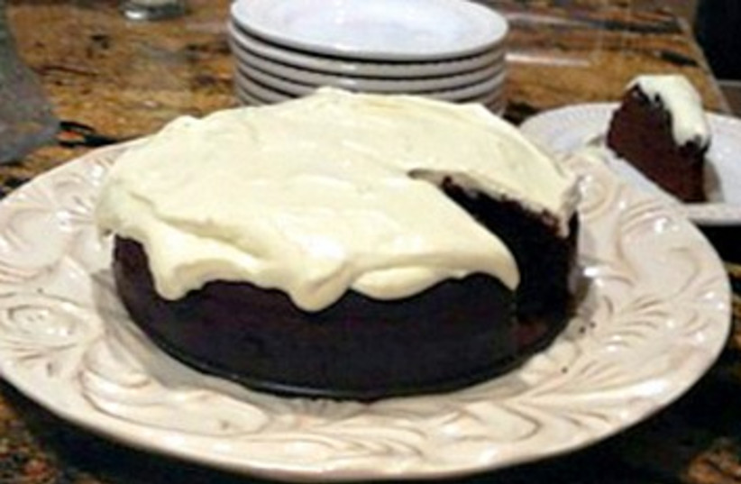 Honey and Dark Beer Chocolate Cake (photo credit: Courtesy)