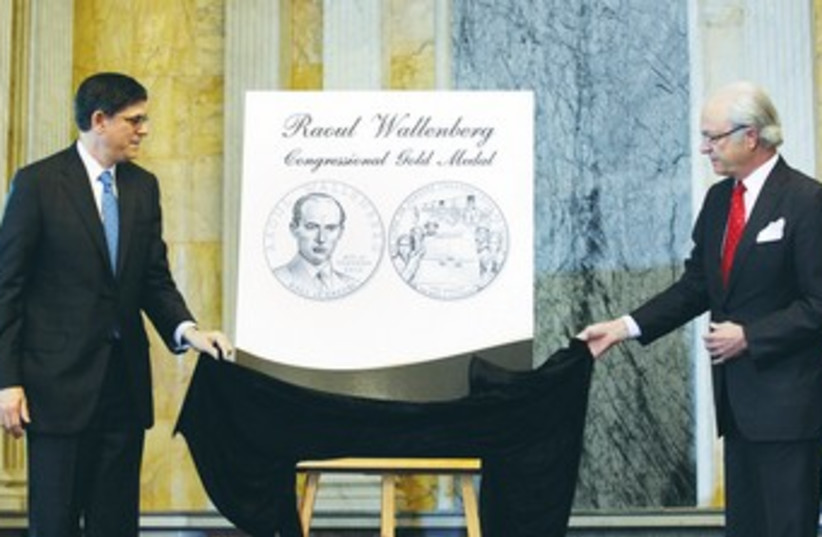 Raoul Wallenberg poster 370 (photo credit: REUTERS)