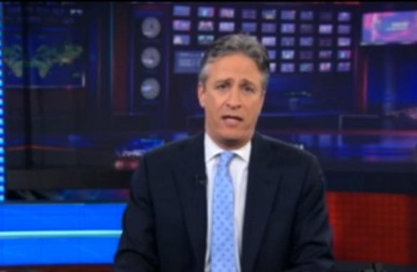 Jon Stewart (photo credit: Screenshot)