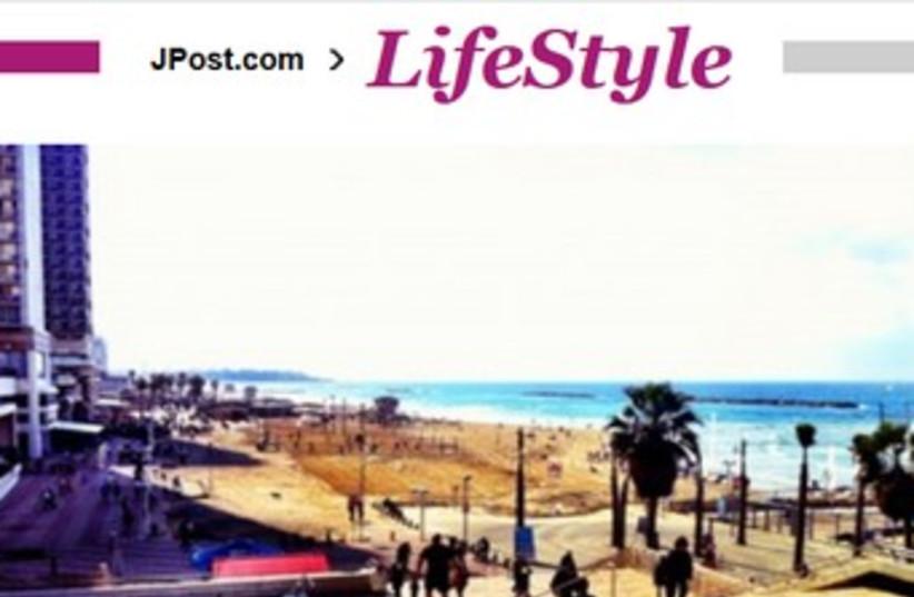 New Lifestyle page launch (photo credit: JPost.com Screenshot)