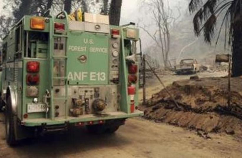 US fire truck 370 (photo credit: reuters)