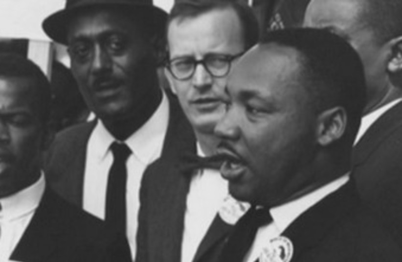 Dr. Martin Luther King Jr. 370 (photo credit: Reuters/ screen shot)