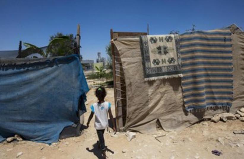 Beduin girl 390 (photo credit: REUTERS)