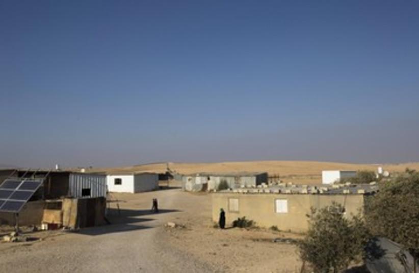 Beduin village 390 (photo credit: REUTERS)
