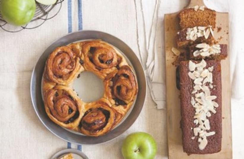 Cakes for Rosh Hashana from Lehem Erez (photo credit: Dan Lev)