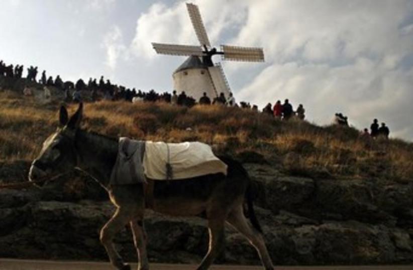 La Mancha, Spain Don Quixote style 370 (photo credit: REUTERS)