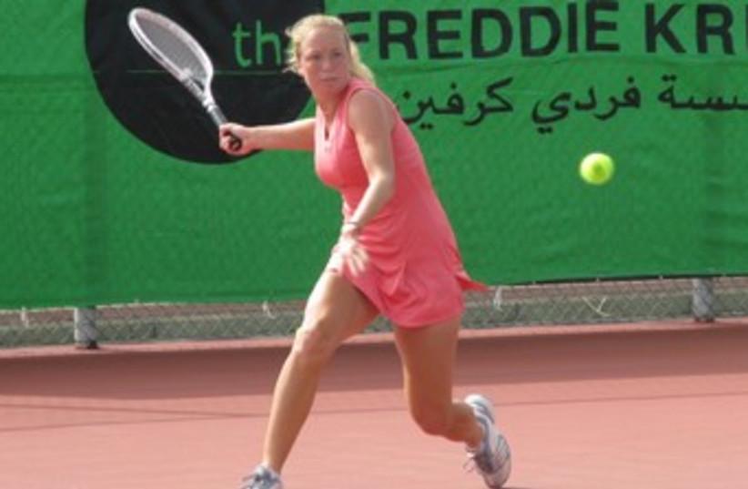 Julia Glushko tennis 370 (photo credit: Reuters)