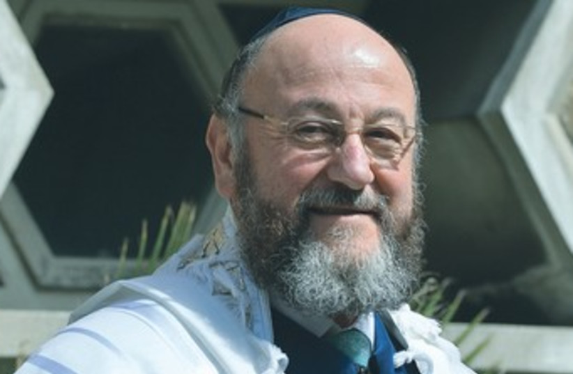 UK UK Chief Rabbi Ephraim Mirvis 370 (photo credit: Reuters)