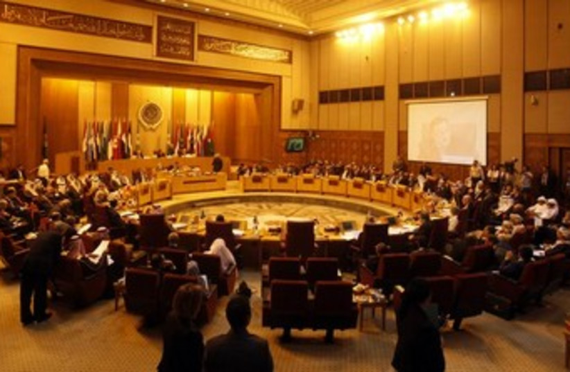 Arab League meeting 370 (photo credit: REUTERS/Amr Abdallah Dalsh)