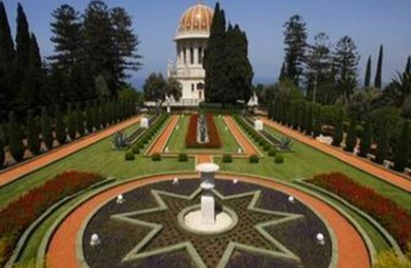 Bahai Gardens 390 (photo credit: Reuters)