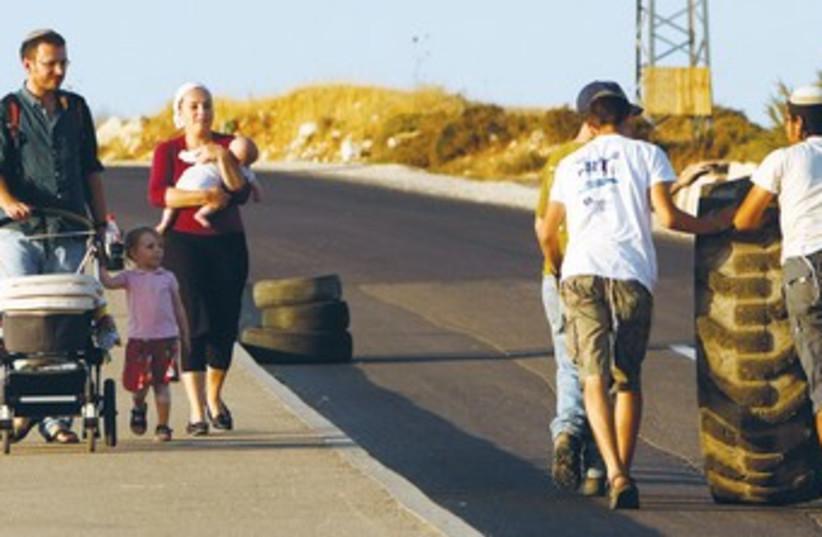 Beit El in the West Bank 370 (photo credit: REUTERS)
