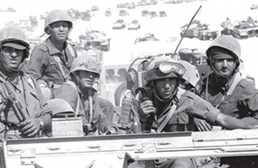 yom kippur war soldiers  370 (photo credit: IDF Archives)