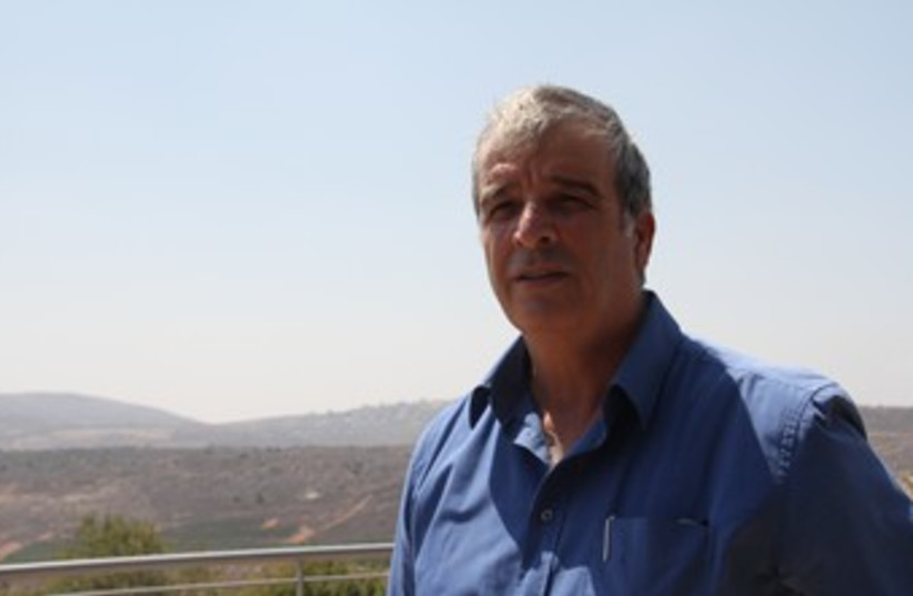 Yesha Council leader Avi Ro'eh 370 (photo credit: TOVAH LAZAROFF)