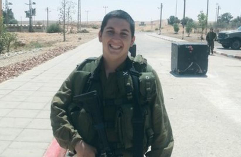 lone soldier 370 (photo credit: IDF Spokesman)