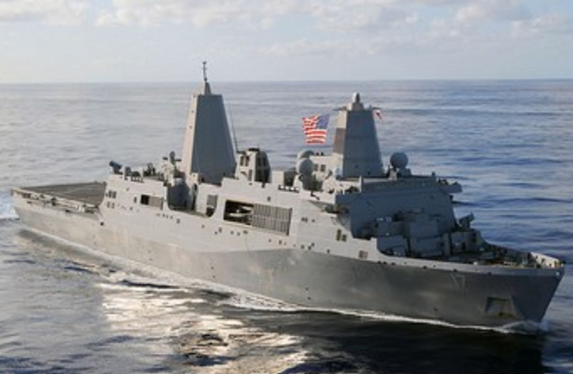 USS San Antonio ship370 (photo credit: Wikimedia Commons)