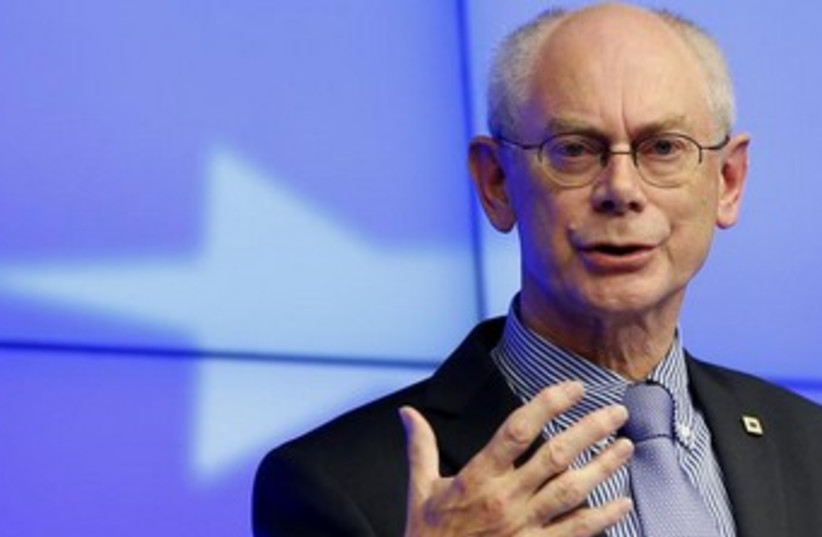 European Council President Herman Van Rompuy  (photo credit: REUTERS)