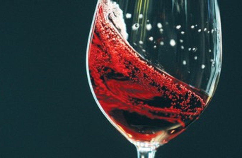 Red Wine in glass 370 (photo credit: courtesy)