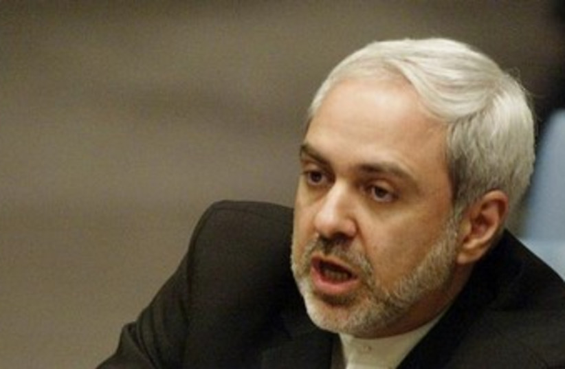 Iranian FM Javad Zarif 370 (photo credit: REUTERS)
