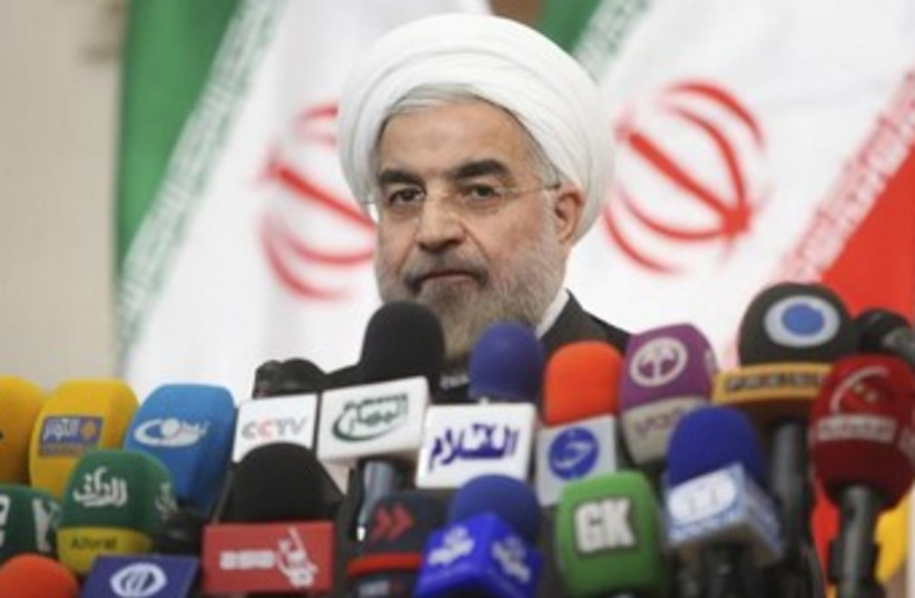 Iranian President-elect Hassan Rouhani  (photo credit: Reuters)
