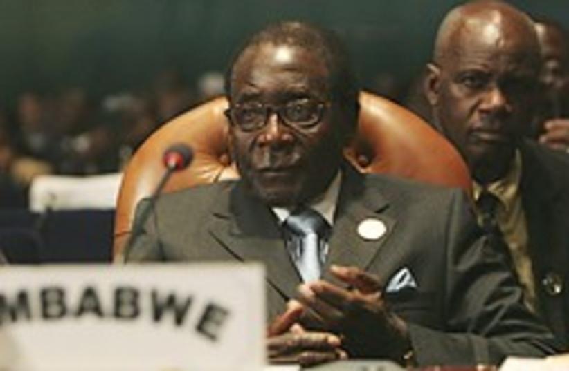 mugabe AU summit 224.88 (photo credit: AP)