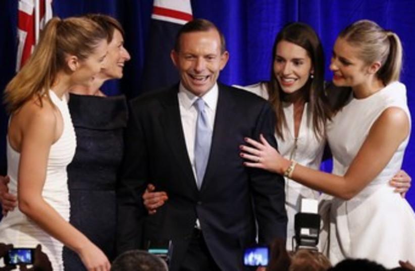 Conservative Tony Abbott wins Australia election 370 (photo credit: REUTERS)