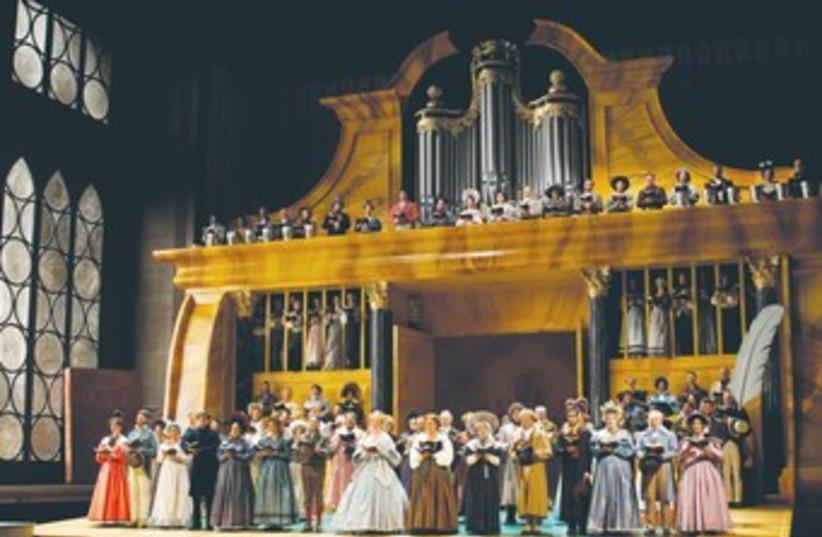 ACT 1 from Die Meistersinger von Nürnberg. (photo credit: Courtesy Salzburger Festspiele/Forster)