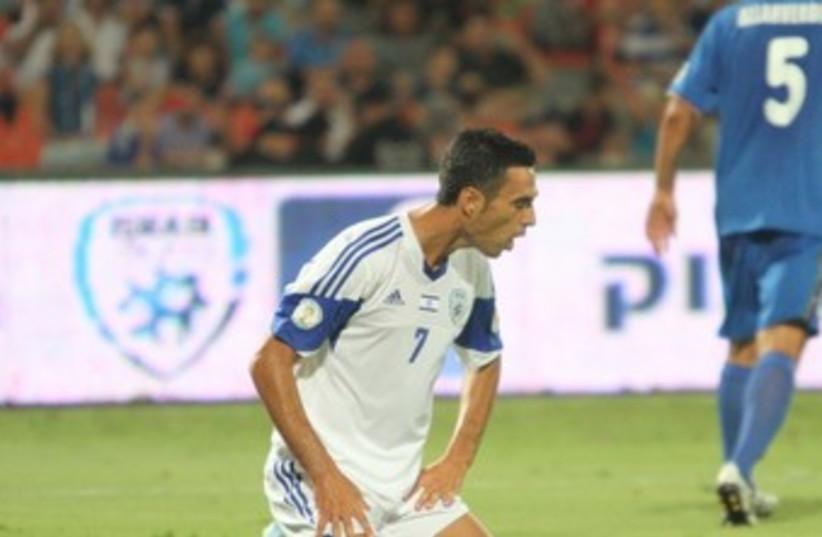 Israel midfielder Eran Zahavi370 (photo credit: Adi Avishai)