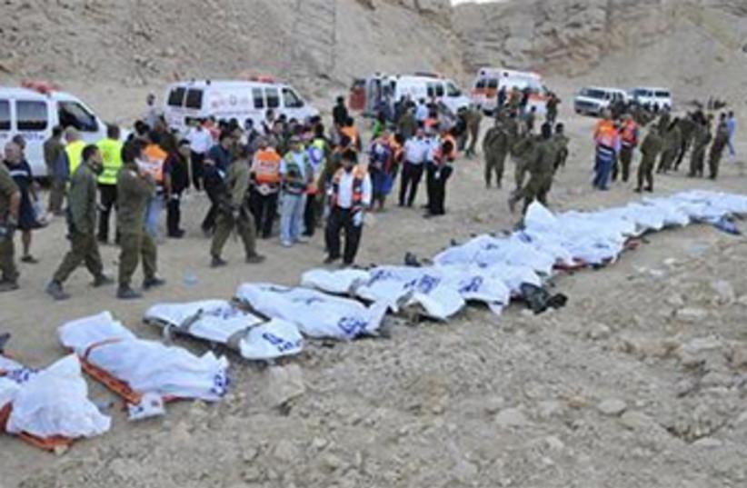 Eilat bus crash Russian tourists 2008 370 (photo credit: Reuters)