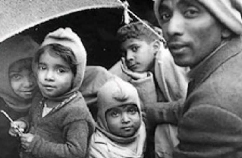 jewish refugess maabara (photo credit: Archive)