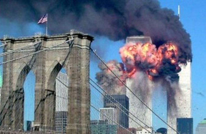 Twin Towers september 11 370 (photo credit: REUTERS)