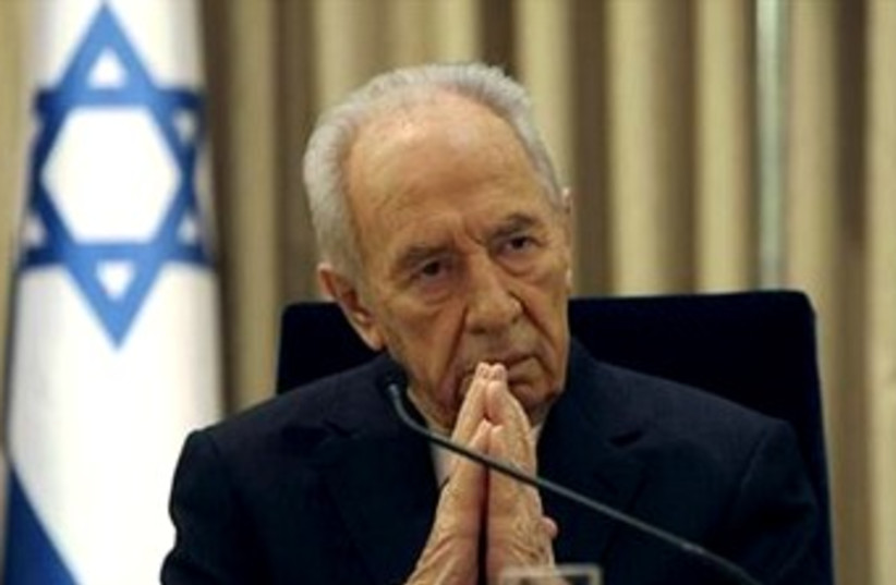 Shimon Peres portrait 370 (photo credit: REUTERS)