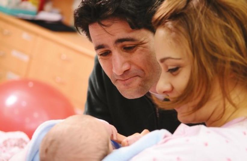 Newborn (photo credit: Courtesy Shaare Zedek Medical Center))