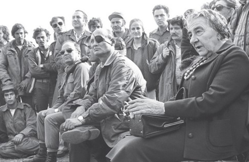 PRIME MINISTER Golda Meir (photo credit: Reuters)