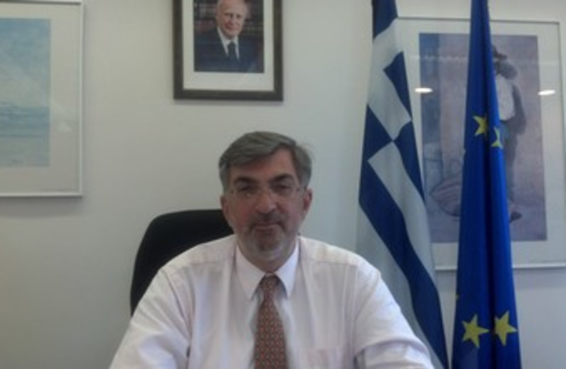 Spiros Lampridis 370 (photo credit: Courtesy Greek Embassy)