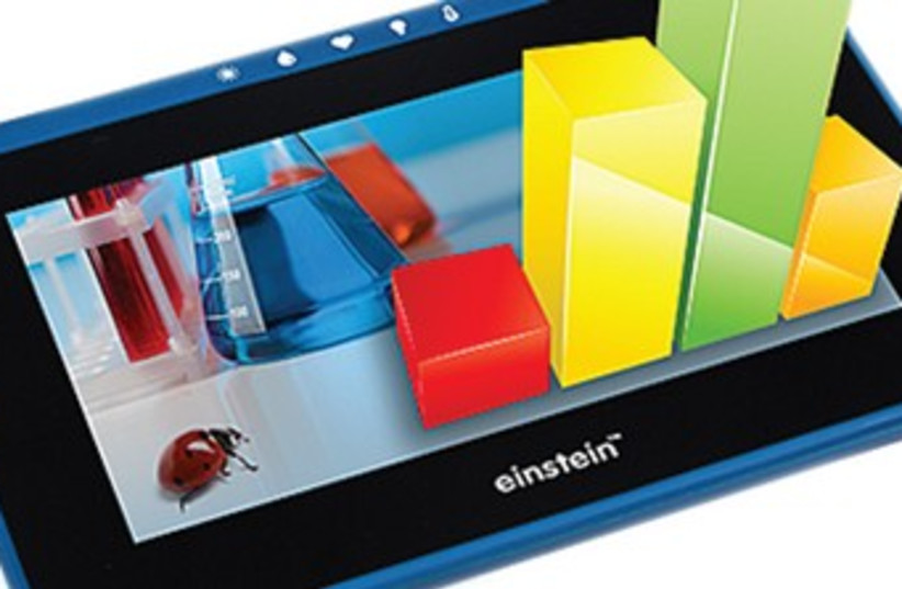 Einstein tablet370 (photo credit: Courtesy)