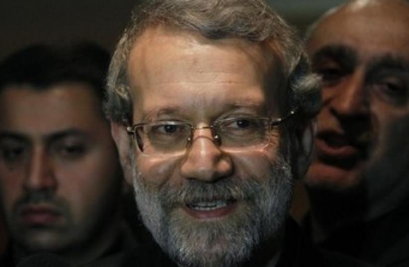 Ali Larijani 370 (photo credit: REUTERS)
