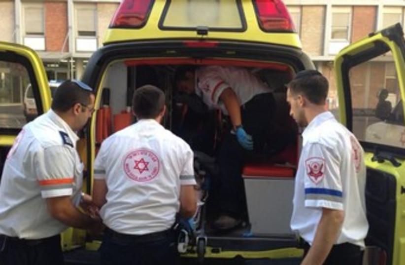 Magen David Adom paramedics 370 (photo credit: Magen David Adom spokesman)