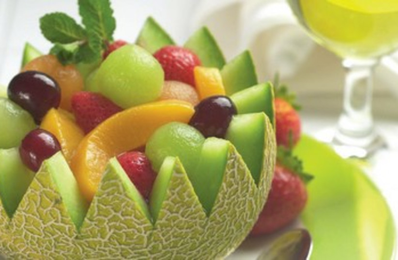 Fruit salad  (photo credit: Courtesy)