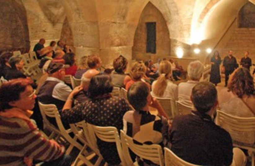 Vocal Music Festival in the village of Abu Ghosh (photo credit: Courtesy)