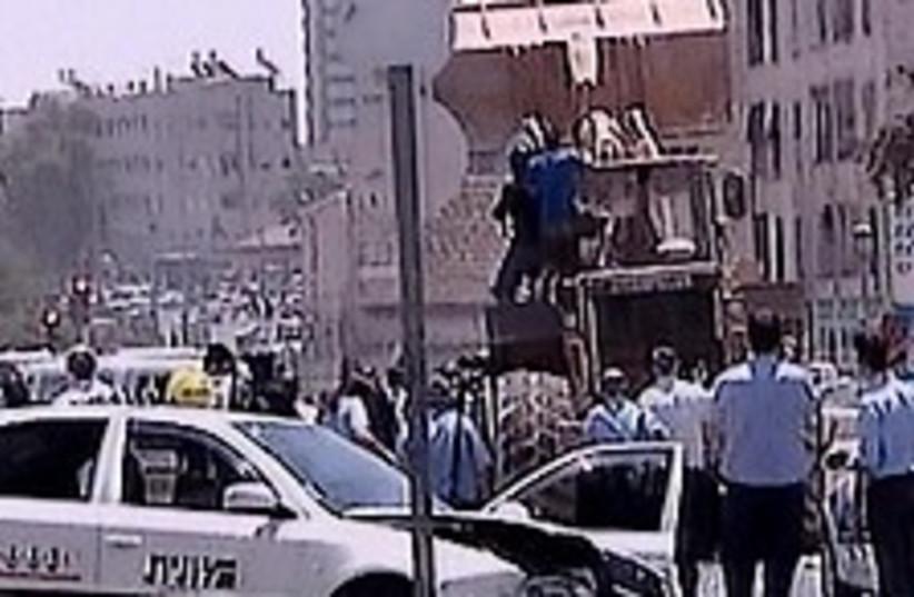 jerusalem attack (photo credit: Channel 2)
