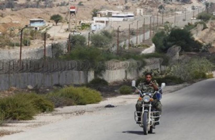 Egypt Gaza border 370  (photo credit: REUTERS)