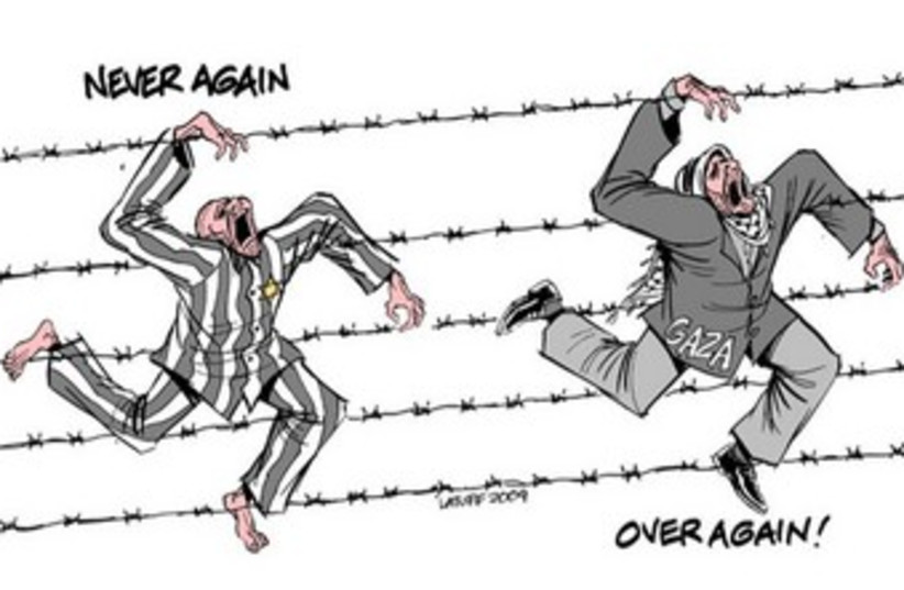 Cartoon from Belgian education website 370 (photo credit: Courtesy)