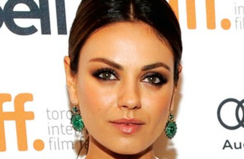 Mila Kunis 370 (photo credit: REUTERS)
