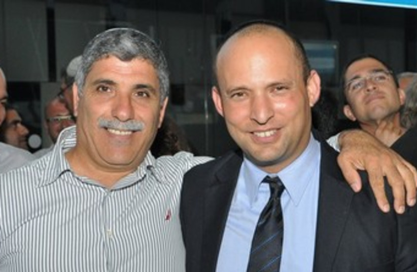 Bennett and Lalo Zohar (photo credit: Courtesy )