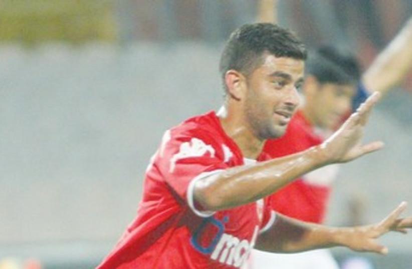 HAPOEL BEERSHEBA midfielder Siraj Nasar 370 (photo credit: Adi Avishai)