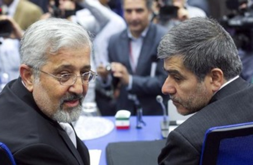 Iran's Head of Atomic Energy Organization  (photo credit: REUTERS)