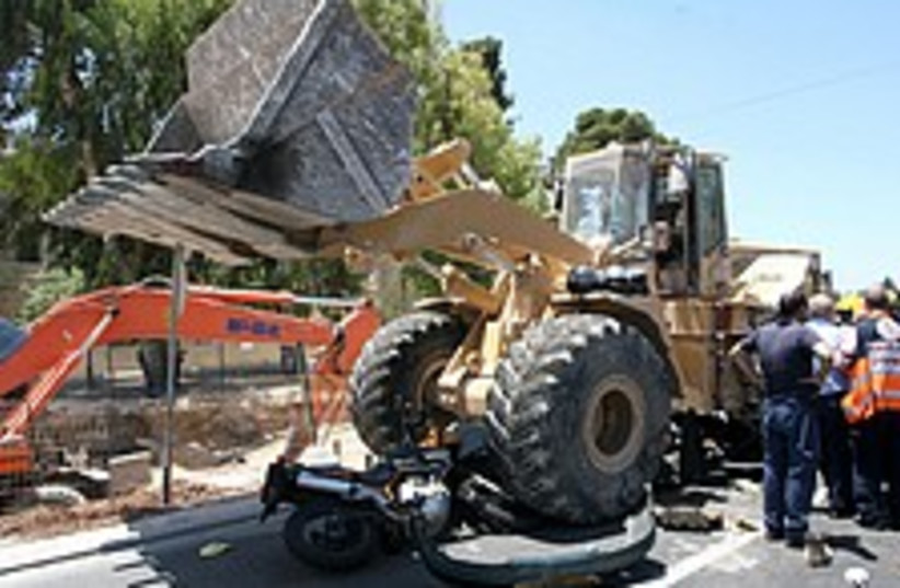 bulldozer pigua 224 88 (photo credit: Ariel Jerozolimski [file])